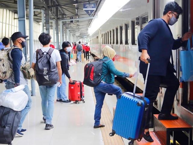 Ini Syarat Terbaru Naik Kereta Api Jarak Jauh Periode 9 - 25 Januari 2021