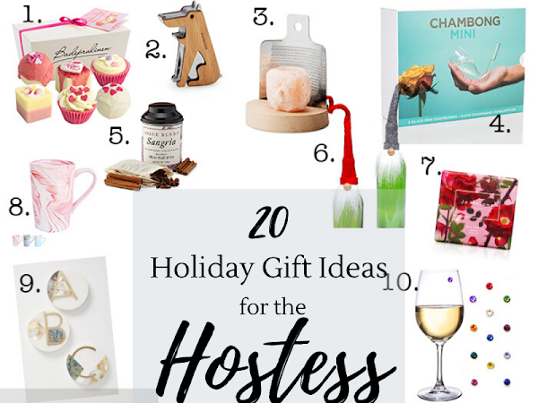 20 Holiday Gift Ideas for the Hostess
