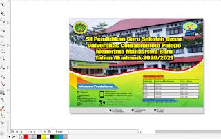 Pamflet Pendaftaran Mahasiswa Baru