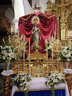 Este Domingo la Patrona de Alhendín procesionará