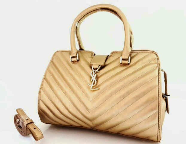 Tas Branded YSL Yves Saint Laurent semi premium gold 9d27782e6b
