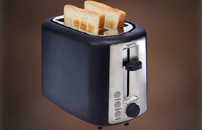 AmazonBasics 2-Slice Best Toaster Under $50