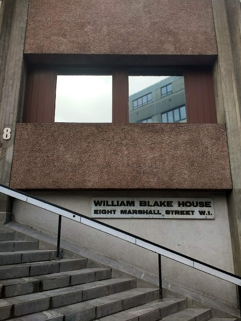 William Blake, Soho, London, Psychogeography, William Blake House