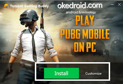 Install Tencent Gaming Buddy for PUBG Mobile di PC