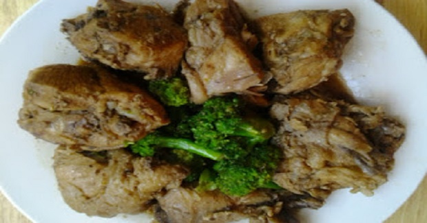 Chicken Adobo With Broccoli Recipe