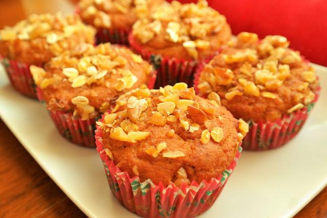 Şekersiz Balkabaklı Muffin
