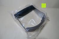 Plastiktüte: Amazy Edelstahl Teigmischer – Der vielseitige Küchenhelfer für einfaches Kneten von Teig