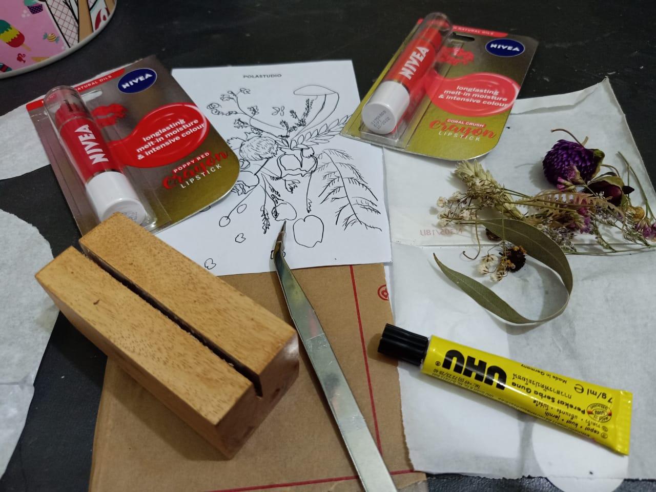 Kit DIY Pola Studio NIVEA Lip Cream