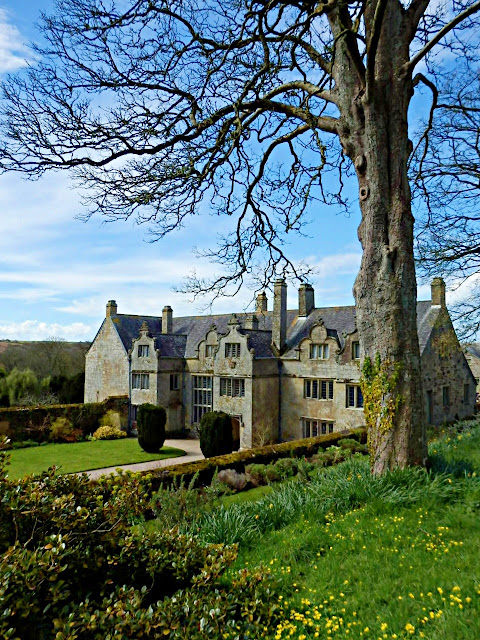 Trerice House from Elizabethan times, Cornwall