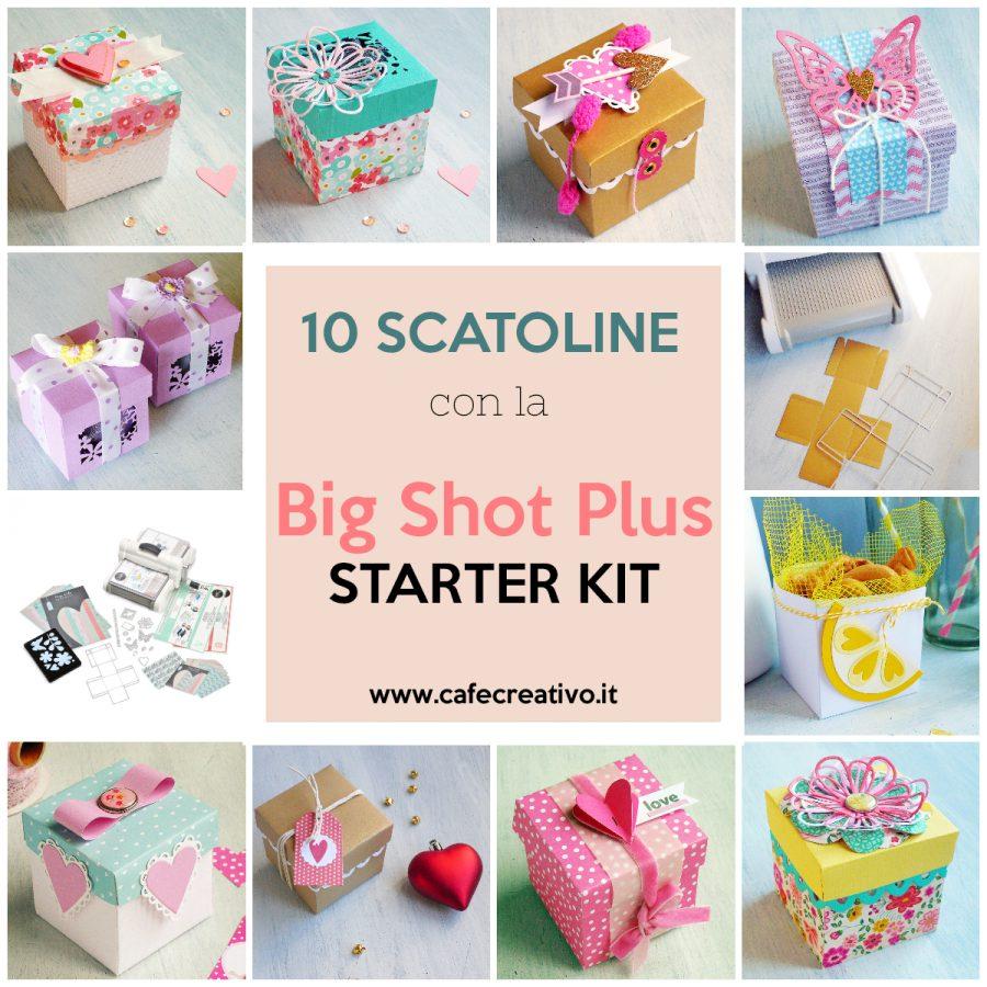 scatoline con la Big Shot Plus Starter Kit
