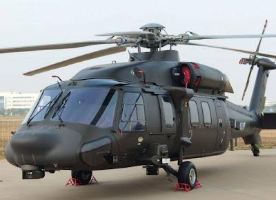 Z-20 Helicopter BlackHawk
