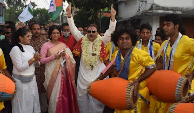 Madan mitra in election images