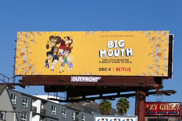 Big Mouth season 4 Netflix billboard