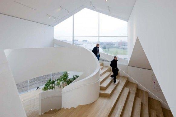 modern staircase design plans