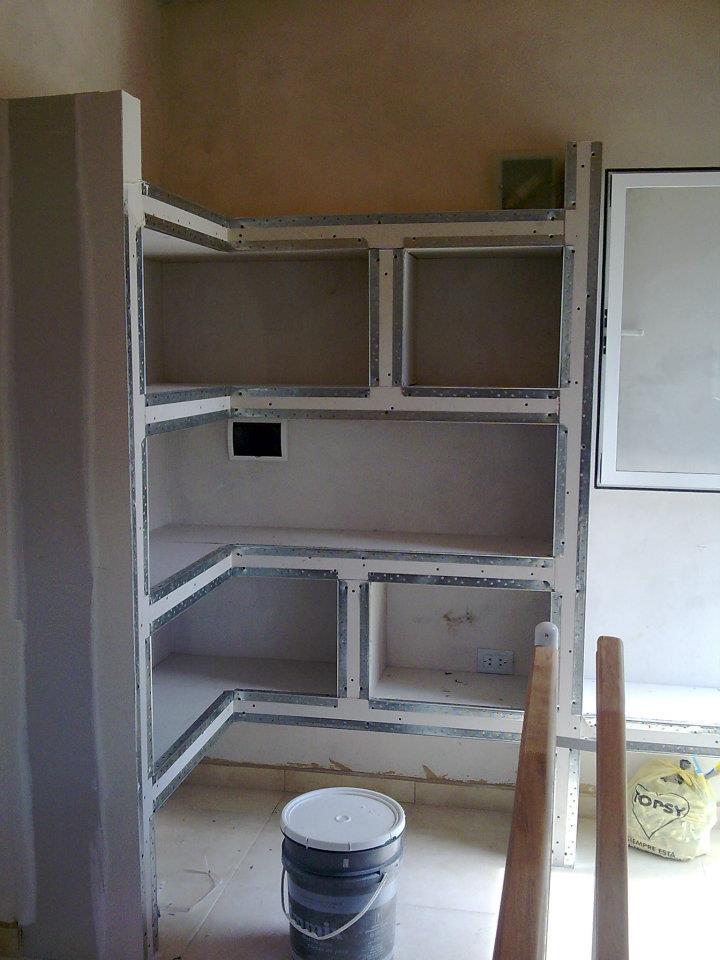 Adrian Perez Construcciones en Seco Durlock Muebles