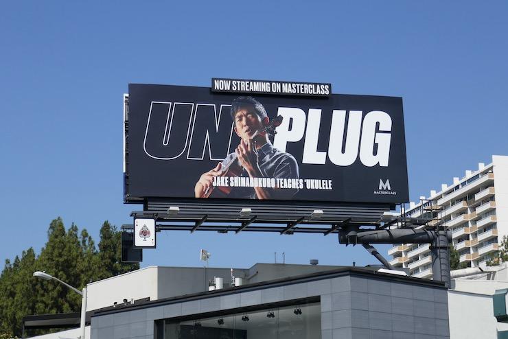 MasterClass Unplug Ukulele billboard