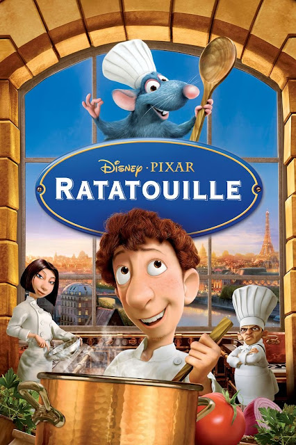 Cartel de la película Ratatouille de Pixar Animation