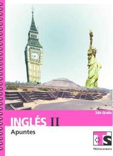 Ingles II Segundo grado 2015-2016 – PDF
