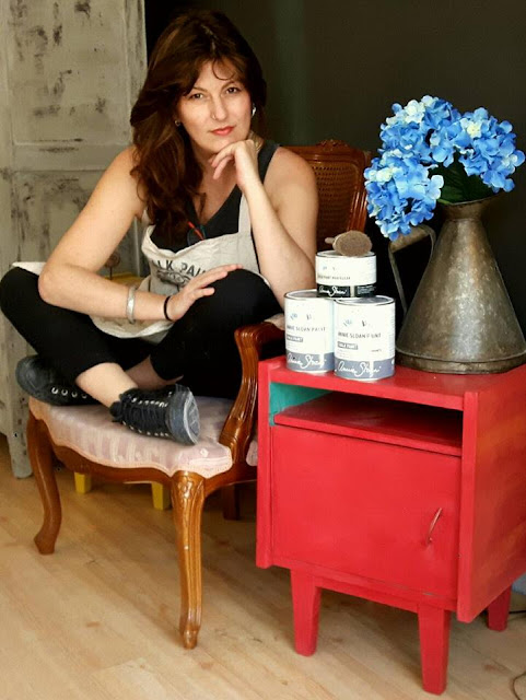 Papillon: Μαριέττα Κεράστα 2 Annie Sloan Greece