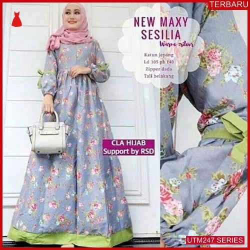 UTM247N92 Baju New Muslim Maxi Dewasa Sesilia UTM247N92 0F7 | Terbaru BMGShop