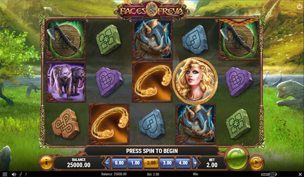Main Gratis Slot Indonesia - The Face of Freya Play N GO