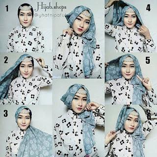 Tutorial Hijab ala Lazera yang cocok untuk Acara Wisuda dan Pesta Pernikahan