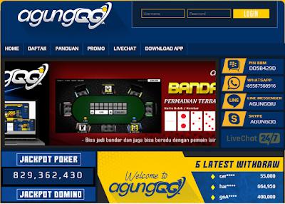 Sensasi berbeda di AGUNGQQ Agen DominoQQ, BandarQ, Capsa Susun, QQ Online Terpercaya di Indonesia