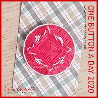 Day 353 : Square Dance - One Button a Day 2020 by Gina Barrett
