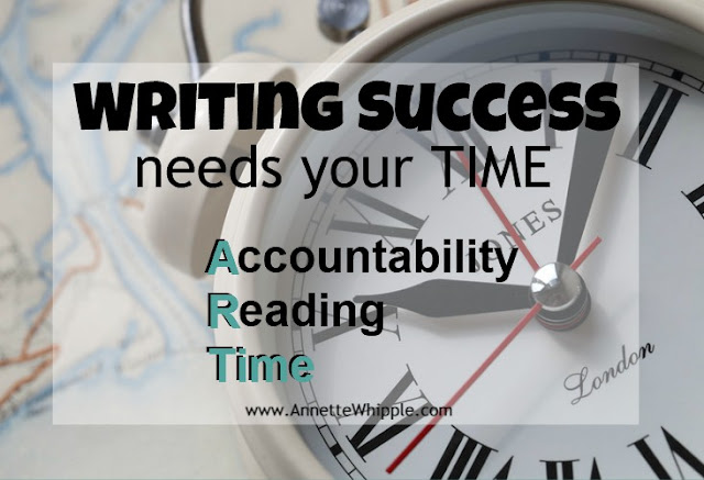 Writing Success Is an ART Part 3: Time