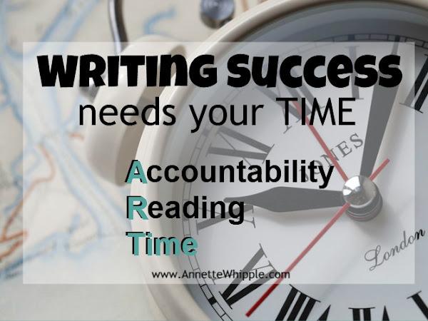 Writing Success Is an ART Part 3: Time