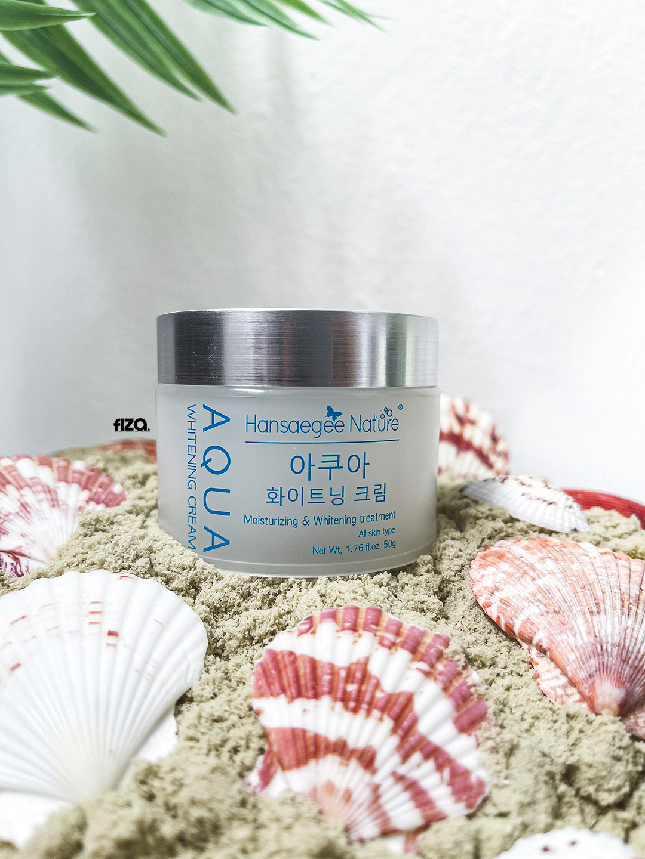 Hansaegee Nature Aqua Whitening Cream