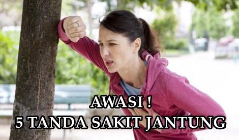 AWASI 5 TANDA BAHAYA SAKIT JANTUNG BLOG MUMMY IDA