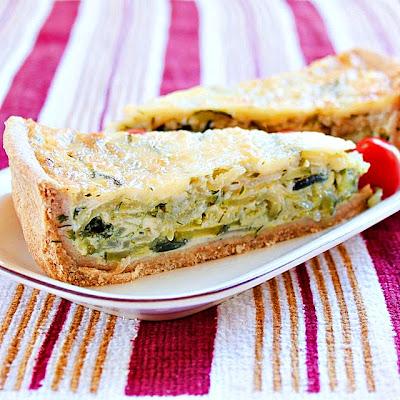 Zucchini Quiche | Roxanashomebaking.com