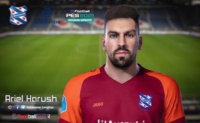 PES 2021 Faces Ariel Harush by CongNgo