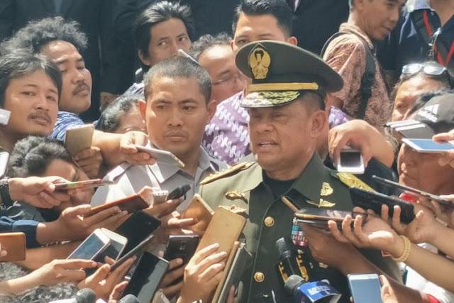 Gerindra dan PKS untuk Gatot Nurmantyo Menuju Pilpres 2019