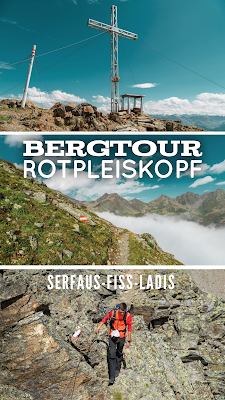 Bergtour Rotpleiskopf | Wandern Serfaus-Fiss-Ladis | Wanderung Tirol | Bergtour-Serfaus