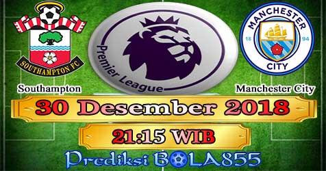 Prediksi Bola855 Southampton vs Manchester City 30 Desember 2018