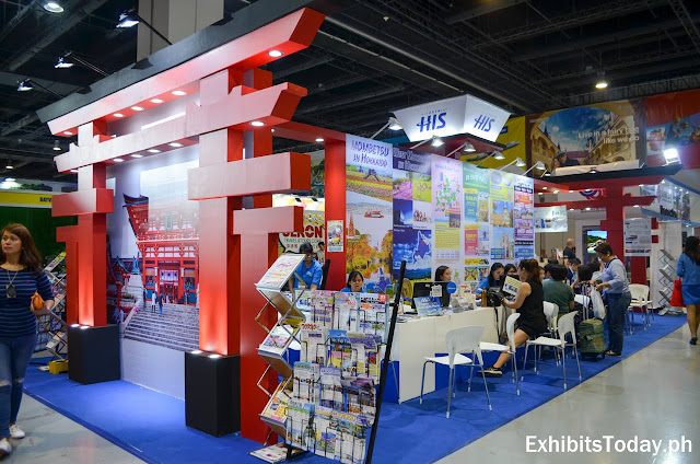 H.I.S. Philippines Travel Corp. exhibition booth