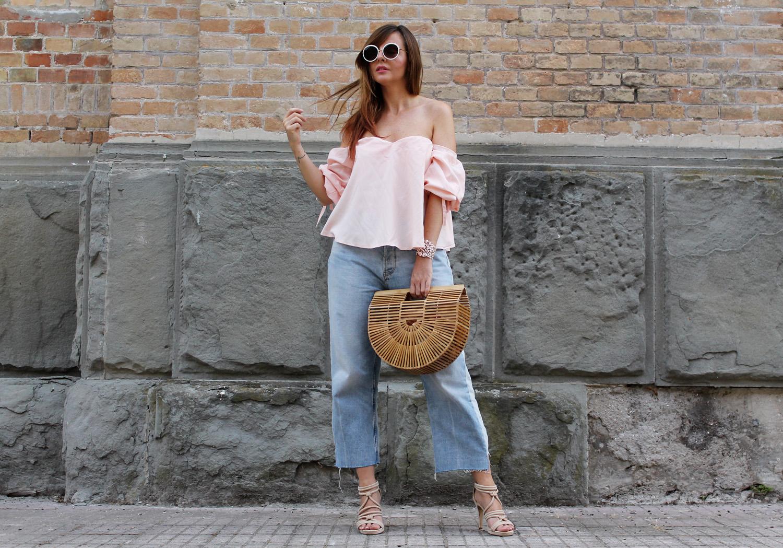 jeans larghi alla caviglia outfit