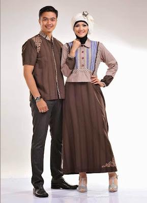 Model Baju Muslim Pesta Sarimbit Keluarga Terbaru