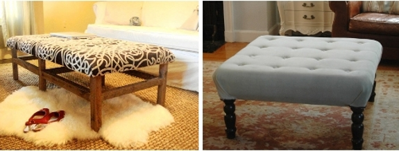 Diy Ottoman Ideas And Tutorials Pretty Providence