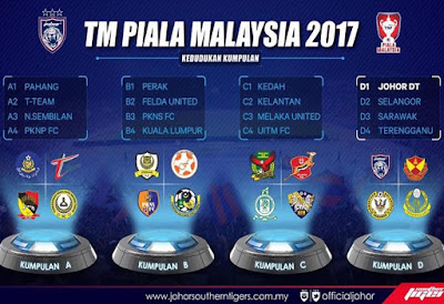 Live Streaming Keputusan Piala Malayia 9 September 2017