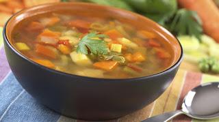 QSN: sopas y caldos de verduras caseros