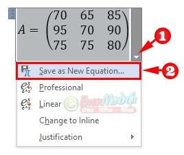 Cara menyimpan rumus matematika