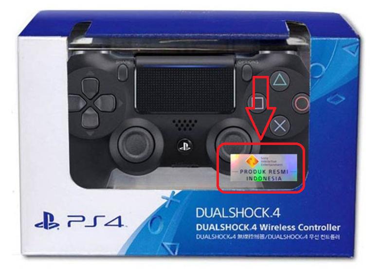 DualShock 4 resmi sudah memiliki segel dan sticker Hologram