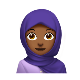 Woman with headscarf  Apple Emojis for 2017