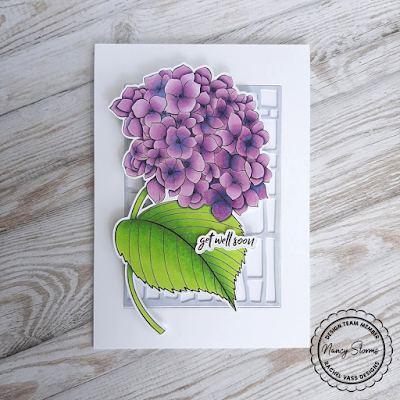 Rachel Vass Designs - Happy Hydrangea