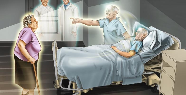 Morte e desligamento do corpo físico