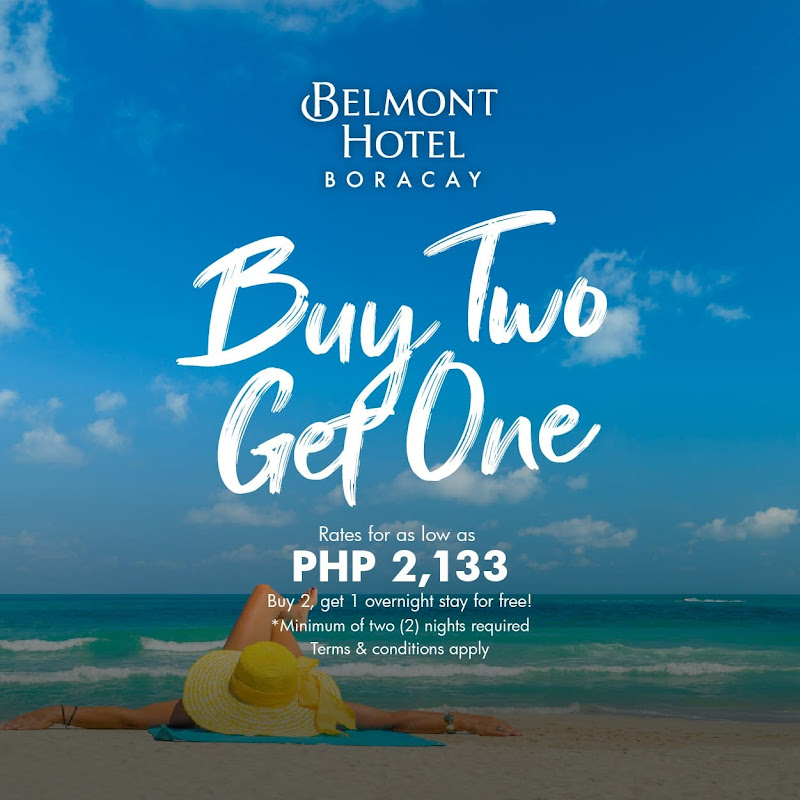 Belmont Hotel Boracay Promos 2021