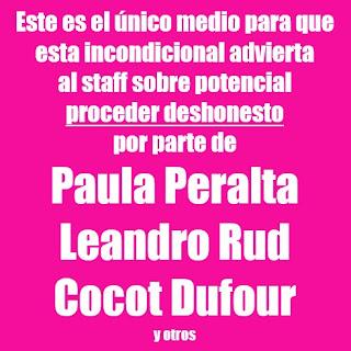 Paula Peralta, crónica de un hartazgo anunciado